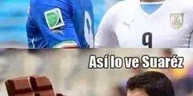Así ve Luis Suárez a Balotelli