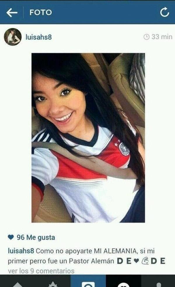Apoyando a Alemania en el Mundial
