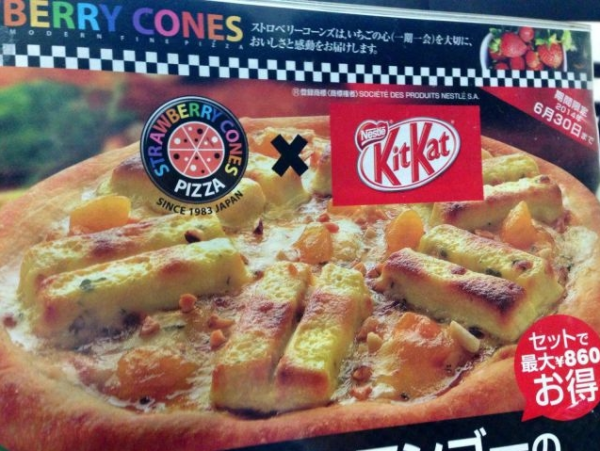 Pizza nivel Asia...