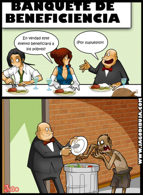 Banquete de beneficiencia