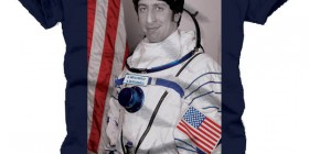 Camiseta Howard Joel Wolowitz astronauta