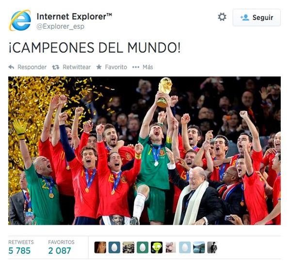 ¡Campeones del mundo!