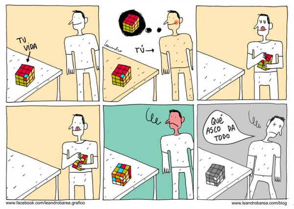 El cubo de Rubik de tu vida