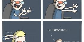 Estas gafas 3D funcionan
