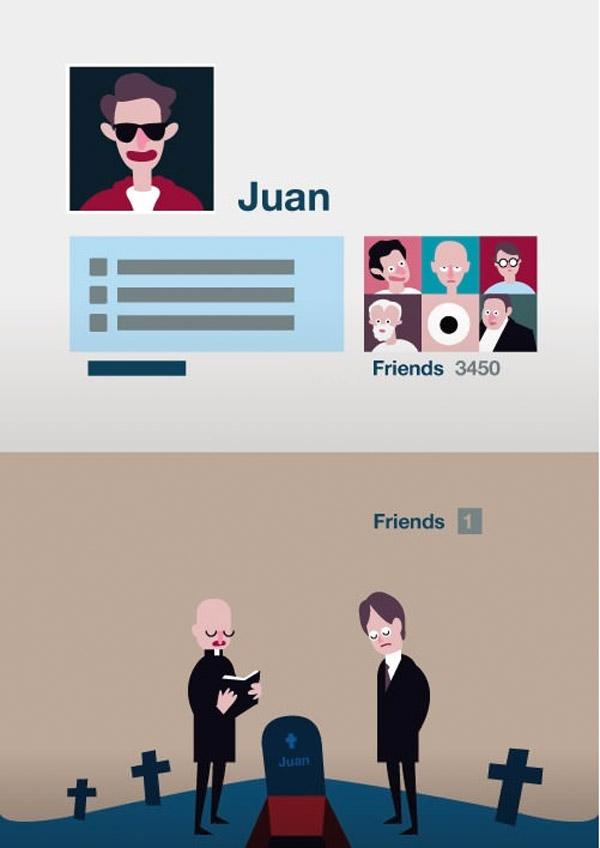 Humor negro: amigos