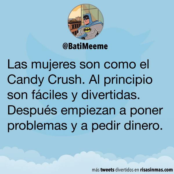 Las mujeres son como el Candy Crush