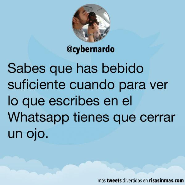 Lo que escribes en el Whatsapp