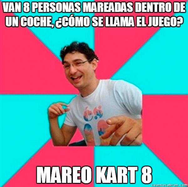 Mareo Kart 8