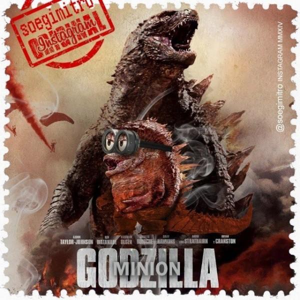 Minion Godzilla
