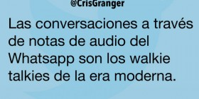 Notas de audio del Whatsapp