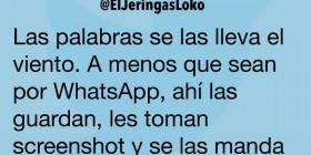 Palabras por WhatsApp