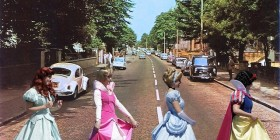 Princesas Disney en Abbey Road