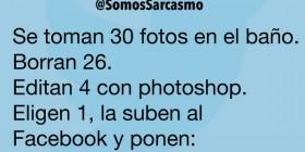 Subiendo fotos al Facebook