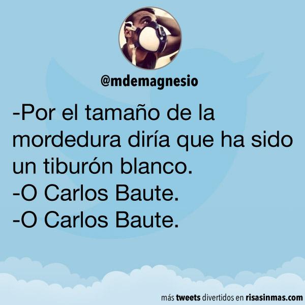 Un tiburón o Carlos Baute