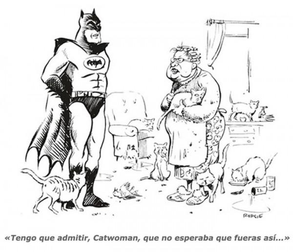 No te esperaba así, Catwoman