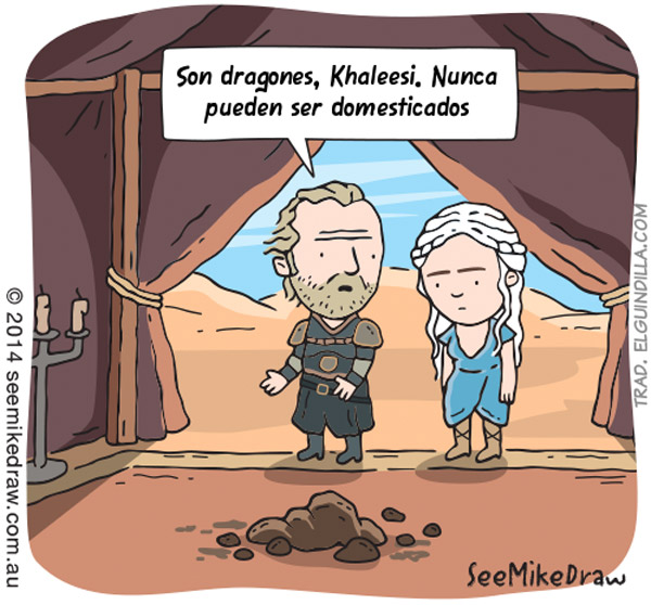 Dragones de Khaleesi