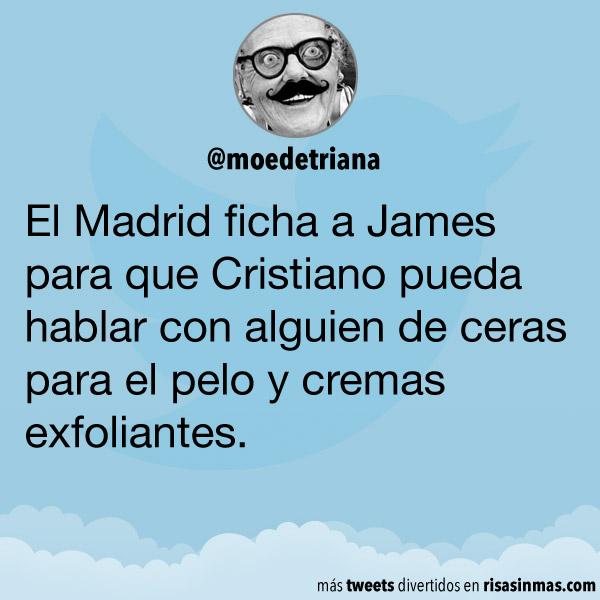 El Madrid ficha a James