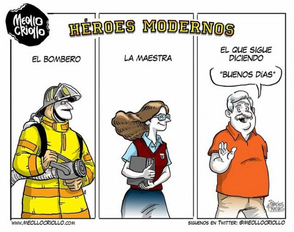 Héroes modernos