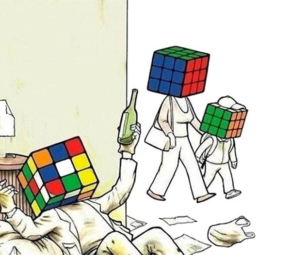La familia Rubik