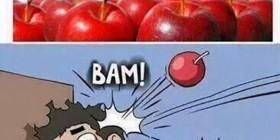 Las manzanas son saludables al despertar
