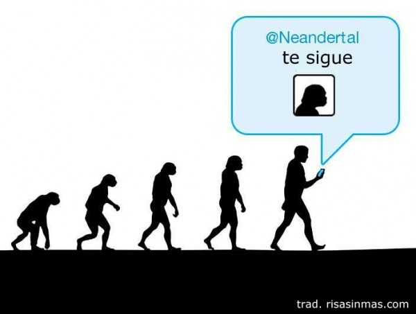 Neandertal te sigue