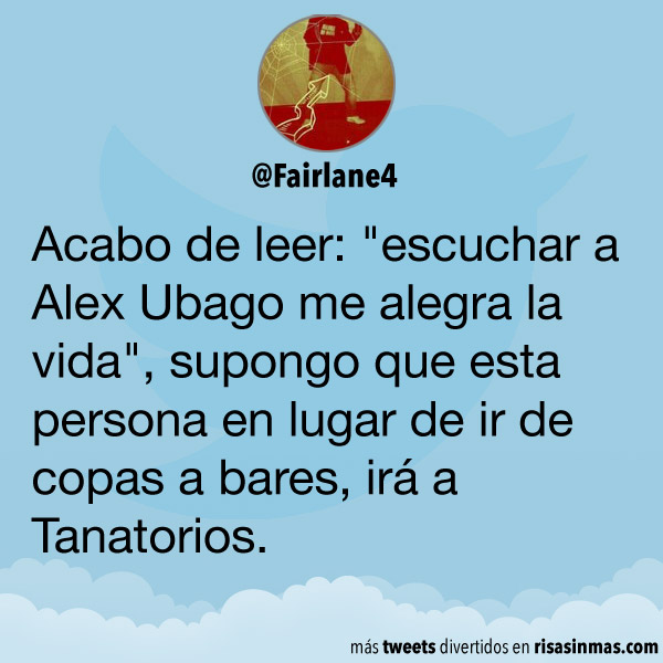 Escuchando a Alex Ubago