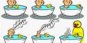 Baño en un universo paralelo
