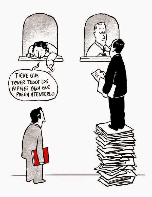 Burocracia: descripción gráfica