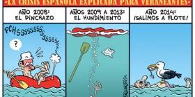 Crisis de España para veraneantes