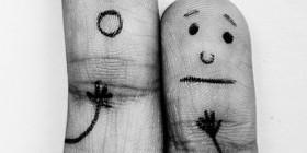 Dedos asustados