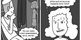 Enamorarse en el metro