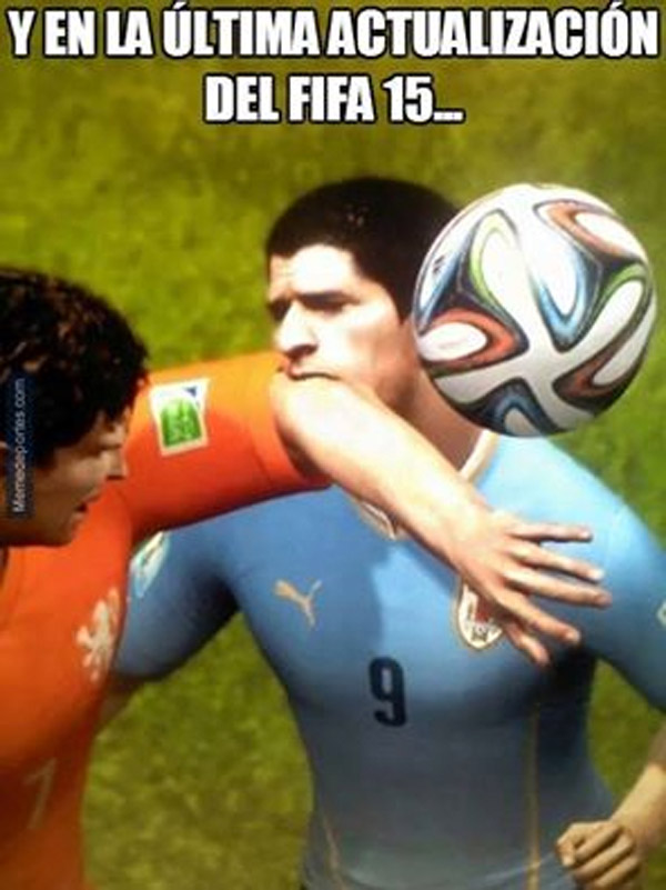 Actualización de FIFA 15 y Luis Suárez