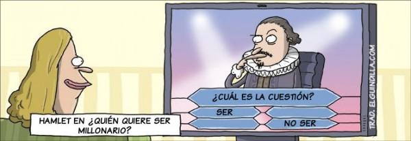 Hamlet en ¿quién quiere ser millonario?
