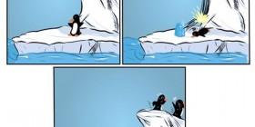 Ice Bucket Challenge versión pingüinos