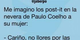 La nevera de Paulo Coelho