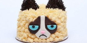 La tarta de Grumpy cat