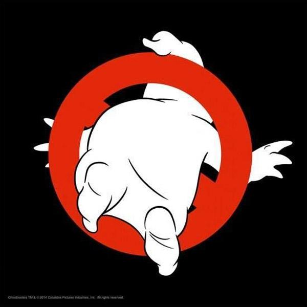 Logo de Ghostbusters desde otra perspectiva