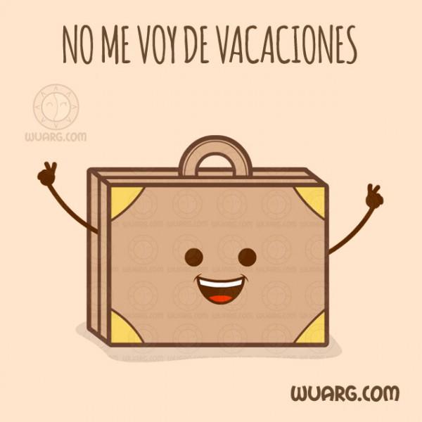 No me voy de vacaciones