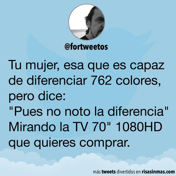 No noto la diferencia
