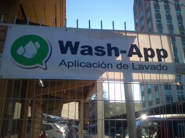 Wash-App, aplicación de lavado