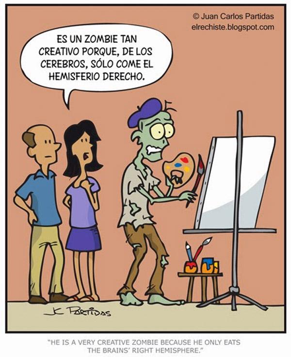 Zombie creativo