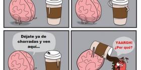 Precaución: café caliente