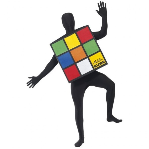 Disfraces originales: Cubo de Rubik