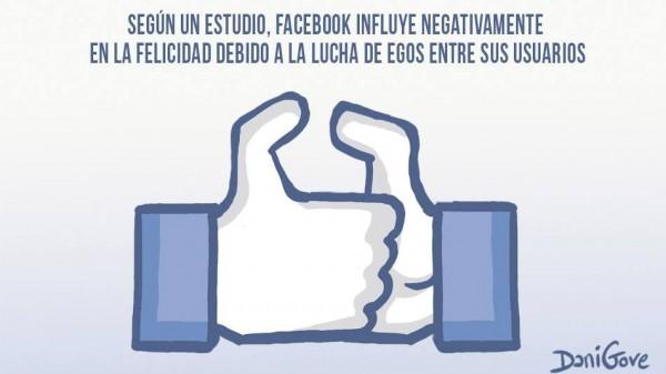 Facebook influye negativamente en la felicidad