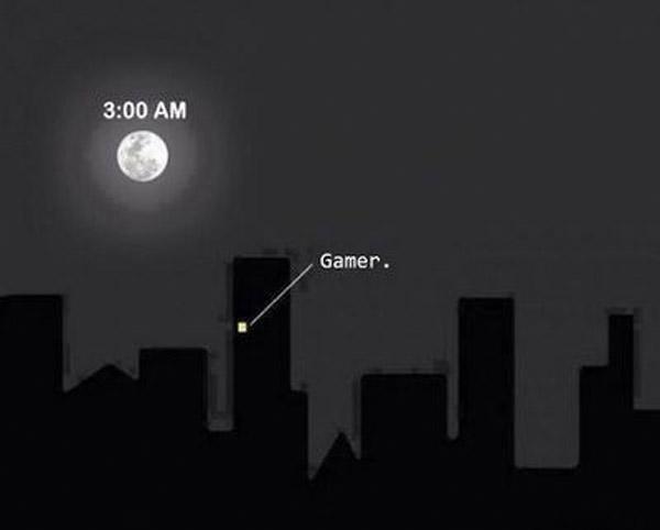 He aquí un gamer
