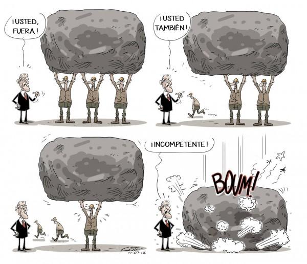 ¡Incompetente!