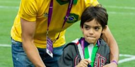 Kaká y Kaká Jr