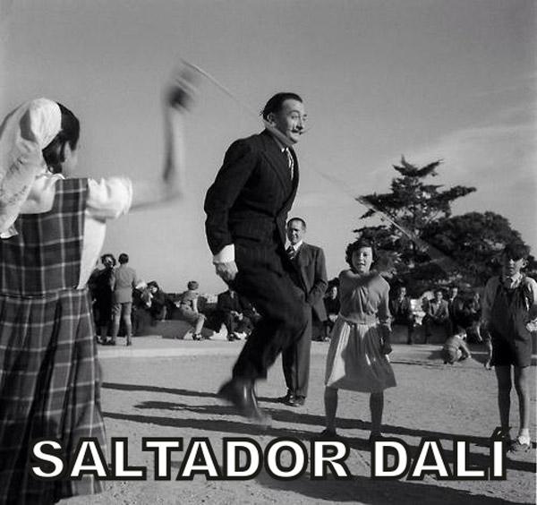 Saltador Dalí