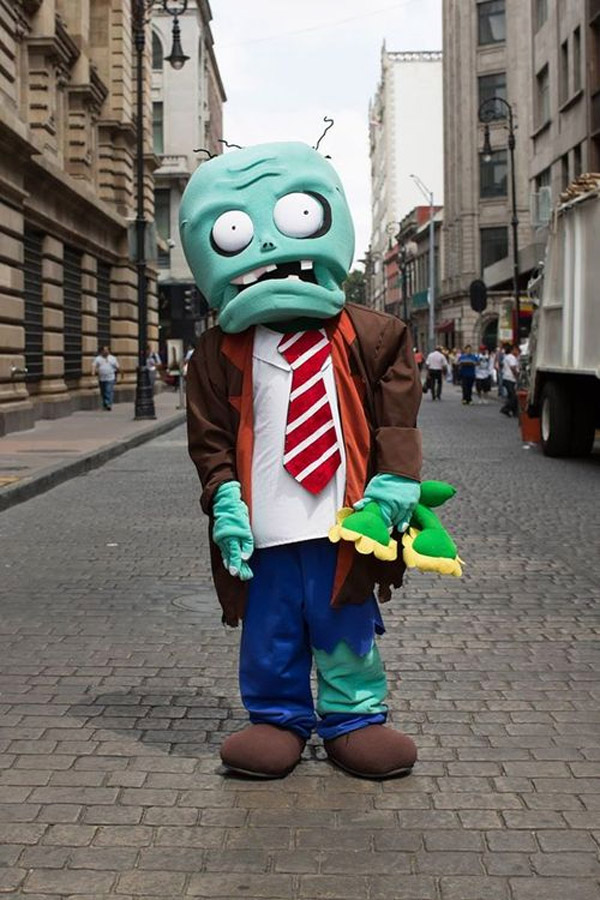 Disfraces originales: plantas vs zombies