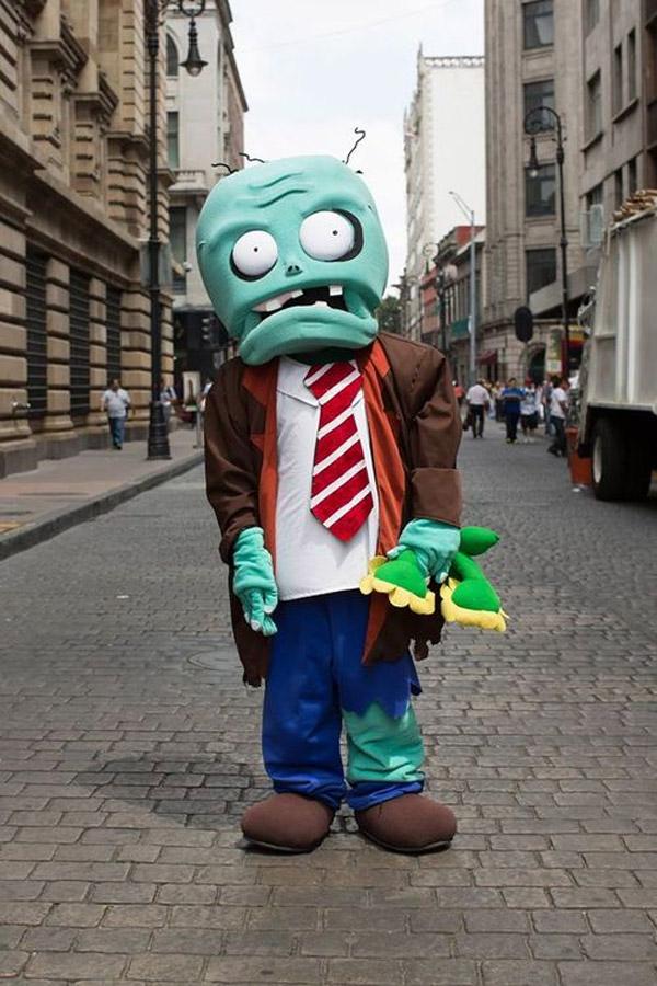 Disfraces originales: plantas vs zombies